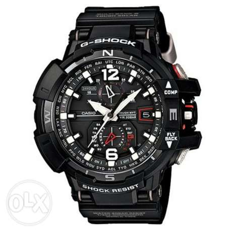 Casio G-Shock Black Red