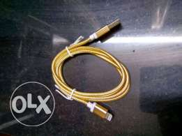 Gold usb for iPhone