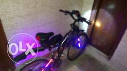 TPG bike with all accessories
