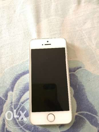 Silver iPhone 5s 32 gb