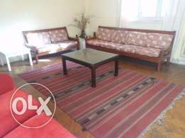 Fully furnished apartment in Maadi for rent (Foreigners Only)