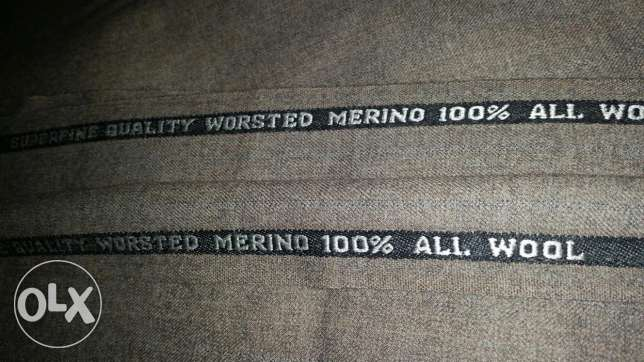 Super fine quality worsted merino 100% all wool