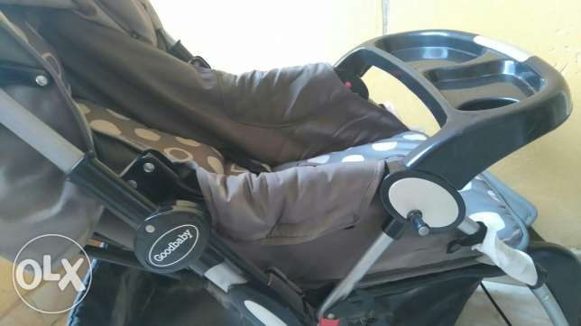 Baby stroller with a swing 6 أكتوبر -  5