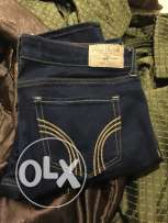 Hollister women dark denim