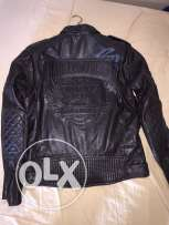 Harley Davidson Black Leather Jacket