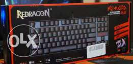 Redragon K552 KUMARA LED Mechanical Gaming Keyboard **جديد متبرشم**