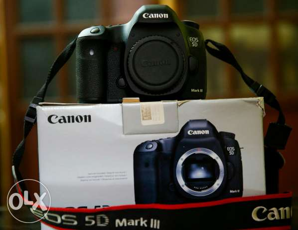 Canon 5D mark 3 body shutter 2k