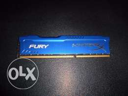 Kingston HyperX FURY Blue 8GB DDR3 1866MHz CL10 1.5v (HX316C10F/8)