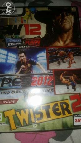 The best cd in play station 2 it has 2 games in it pes 2012 and WWE 20