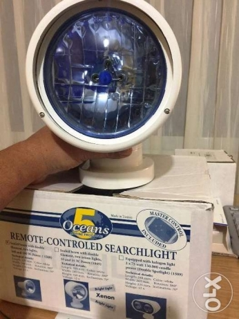 NEW Heavy duty Marine Oceans remote control Spotlight from USA.