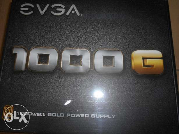 EVGA 1000W G1 80+ Gold Fully Modular جديد لم يستخدم