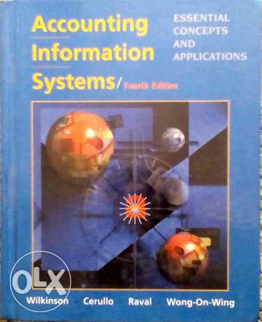 Accounting Information Systems , Essential concepts And Applications . 6 أكتوبر -  1