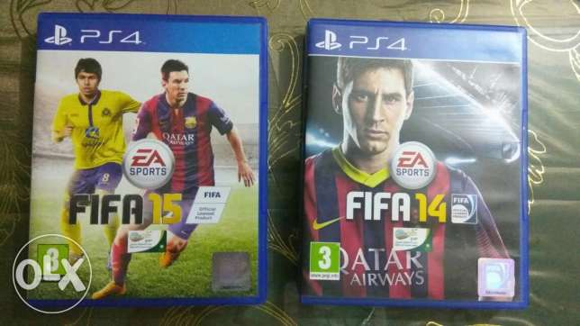 Fifa 15 & Fifa 14 for ps4
