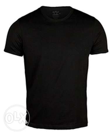 Hero Basic T-Shirt For Men-Black XLarge