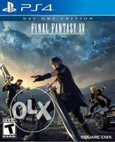 Final fantasy XV CD for ps4