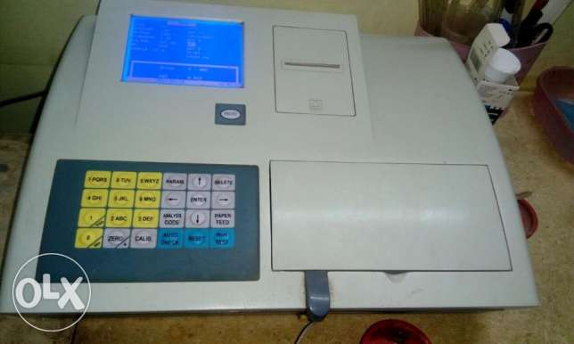 جهاز كيمياء semi automated chemistry analyzer scout v