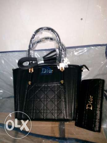 Dior leather (bag & wallet)