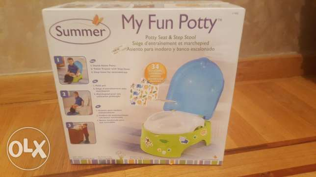 Potty trainig new