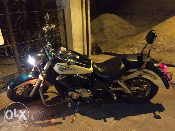 Honda shadow 400 العبور -  1