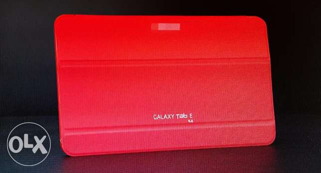 Samsung Tab E .. Special Red Cover