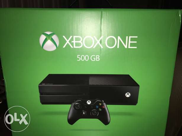 xbox one 500 GB . brand new and sealed