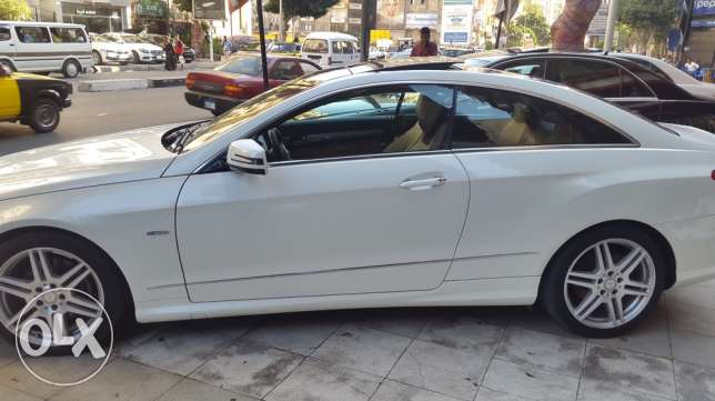 2011 E250 coupe Amg white panorama الإسكندرية -  4