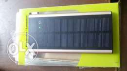Touch Solar power bank made in HongKong.