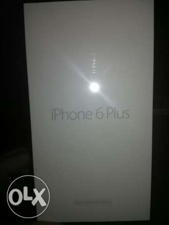 I phone 6 plus 64 giga كرتونه مقفوله