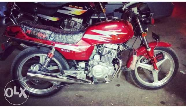 Motorcycle Haoiajng 4 200cc