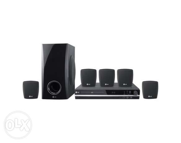 LG DVD Home theater 5.1 Karaoke USB الإسكندرية -  1