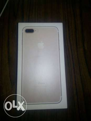 iphone 7 plus -Gold- 256 GB neww المنصورة -  1