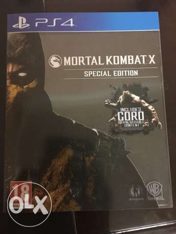 Mortal Kombat X - PS4 المنصورة -  1