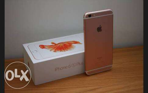iPhone 6s Plus 128G gold rose