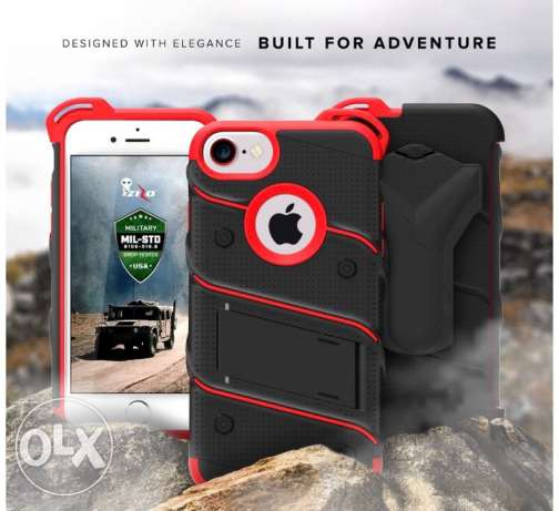 iPhone 7 Case, Zizo [ Bolt Series ] Military Grade