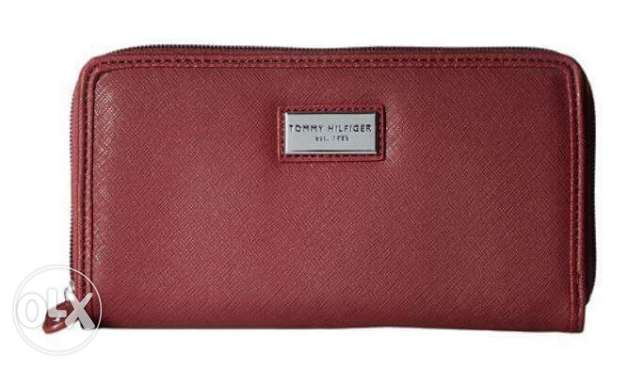 Original Tommy hilfiger women leather wallet from usa