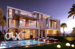 White Bay Sidi Heneish Town House Built Up Area 276 m With Pool