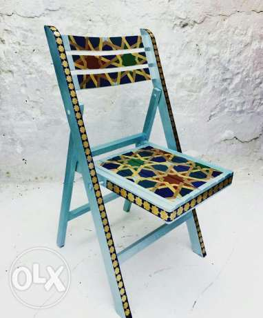 A handmade chaire
