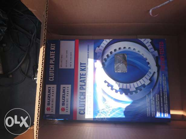 Gsxr 1000 k7 genuine oem clutch plates kit
