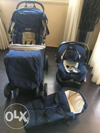 Graco Stroller Quattro tour deluxe travel system