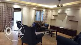 Furnished For rent infront if the auc