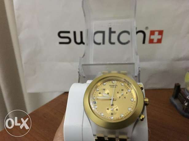 New Swatch Diaphine watch (unisex) with original box