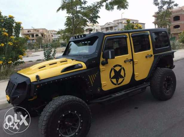 Jeep Wrangler -2011-totally modified