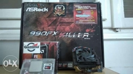 AMD High End Bundle (FX 8350 - ASRock Fatal1ty 990FX Killer - 16GB)