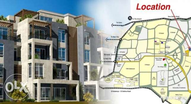Duplex roof in VGK Palm Hills new Cairo attractive price القاهرة الجديدة - التجمع الخامس -  7