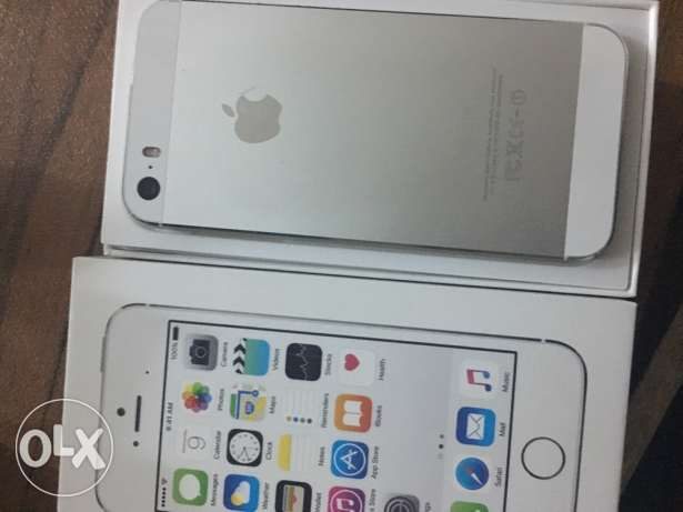 iPhone 5s silver 6 أكتوبر -  1