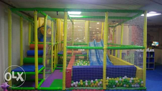 Soft game for indoor kids area