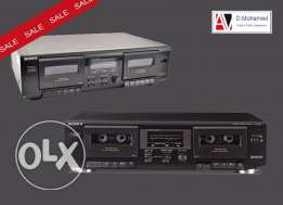SONY deak TC -WE 305