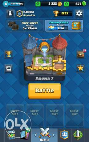 Clash Of Clans & Clash Royal Accounts الإسكندرية -  4