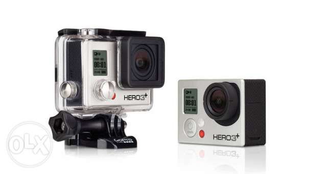 Go Pro Hero 3+ Silver + Polaroid Snap Camera