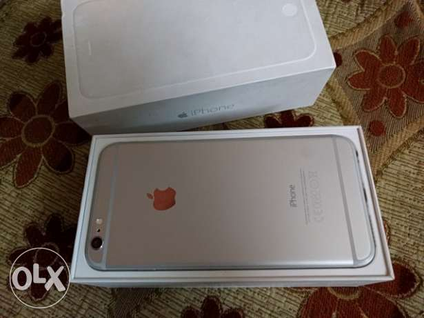 iPhone 6 Plus Silver White